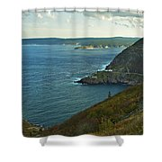 Entrance To St. John's Harbour Shower Curtain