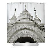 Entrance To Wat Suan Dok Shower Curtain