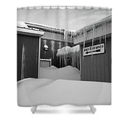 Entry To Narnia Shower Curtain