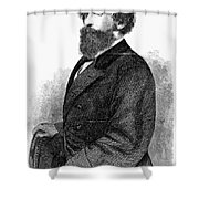 Ephraim Squier (1821-1888) Shower Curtain