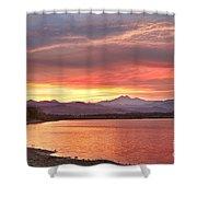 Epic August Sunset 2 Shower Curtain