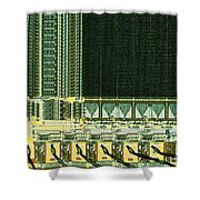 Eprom Shower Curtain