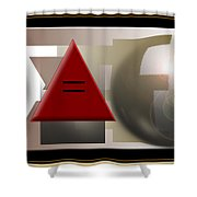 Equality Equation Shower Curtain