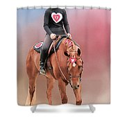 Equestrian Competition Shower Curtain