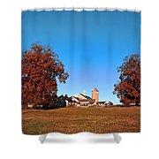 Erdenheim Farm In Autumn Shower Curtain