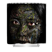 Erosion Shower Curtain