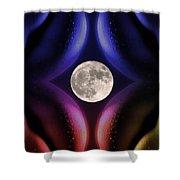 Erotic Moonlight Shower Curtain