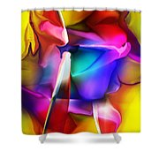 Erotica Intended Shower Curtain
