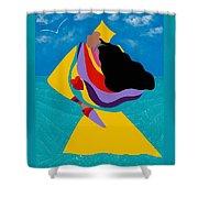 Erzulie Haitian Goddess Of Love Shower Curtain