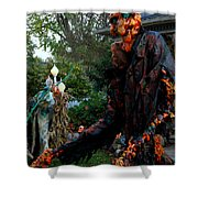 Escape From The Pumpkin Patch Shower Curtain