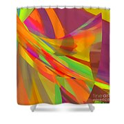 Esprit Shower Curtain by ME Kozdron