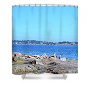 Esquimalt Lagoon Shower Curtain