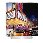 Esquire Theater Shower Curtain