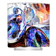 Essence Of Inspiration Abstract Shower Curtain