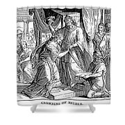 Esther & Ahasuerus Shower Curtain