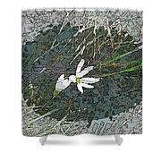Estuary Bloom Shower Curtain