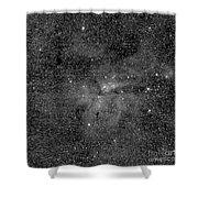Eta Carinae Nebula, Cassini Image Shower Curtain