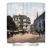 Etablissement Thermal - Aix France Shower Curtain by International  Images