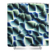 Etched Silicon Wafer Shower Curtain