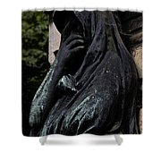 Eternal Sorrow D2748 Shower Curtain by Wes and Dotty Weber