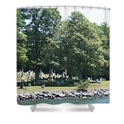 Eternal Waterfront Property Shower Curtain