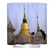 Ethereal Chedi Shower Curtain