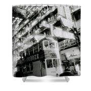 Ethereal Hong Kong  Shower Curtain