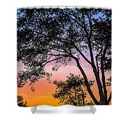 Eureka Sunset Shower Curtain