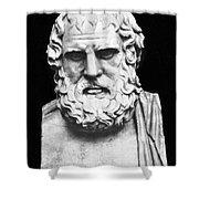 Euripides Shower Curtain