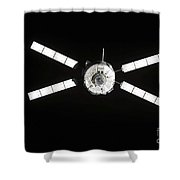 European Space Agencys Jules Verne Shower Curtain by Stocktrek Images