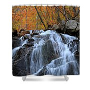 Evans Notch Waterfall Shower Curtain