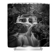 Even Flow 4.1 Bw Shower Curtain