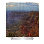 Evening At Desert View Shower Curtain