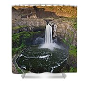 Evening At Palouse Falls Shower Curtain