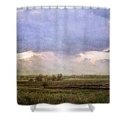 Evening Field Shower Curtain