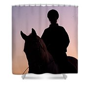 Evening Harmony Shower Curtain