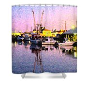 Evening Peace Shower Curtain