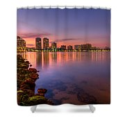 Evening Warmth Shower Curtain