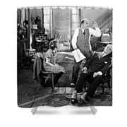 Everybodys Acting, 1926 Shower Curtain