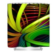 Everyone Loves A Slinky Shower Curtain