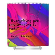 Everything You Imagine Shower Curtain