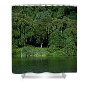 Everywhere And Nowhere - Holmdel Park Shower Curtain