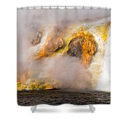 Excelsior Geyser Shower Curtain