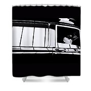 The Driver Shower Curtain