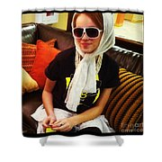 Exit 138 Shower Curtain