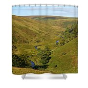 Exmoor's River Barle Shower Curtain