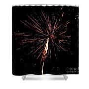 Explode Shower Curtain