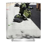 Explosive Ordnance Disposal Technician Shower Curtain