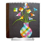 Express It Creatively Shower Curtain