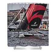 Extreme 40 Team Alinghi 2 Shower Curtain